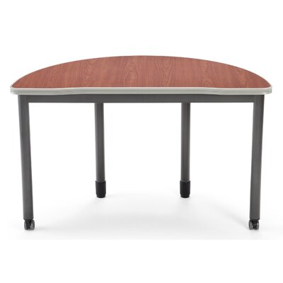 47.25 W Mesa Series Training Table with Wheels Tabletop Finish: Cherry