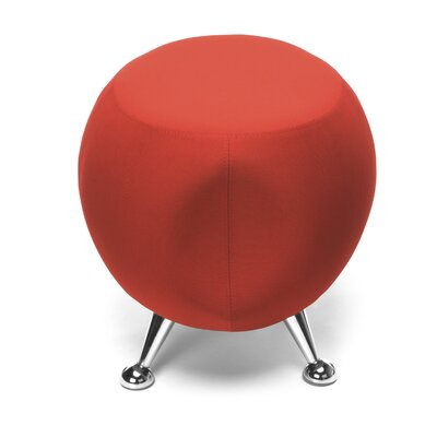 Jupiter Series 22 Bar Stool Upholstery: Red