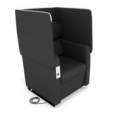 Morph Series Soft Seating Convertible Chair Upholstery: Midnight