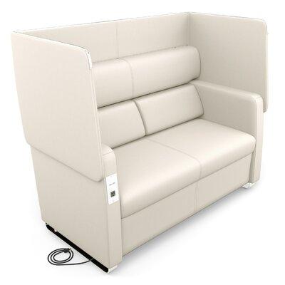 Morph Series Soft Seating Loveseat Upholstery: Linen