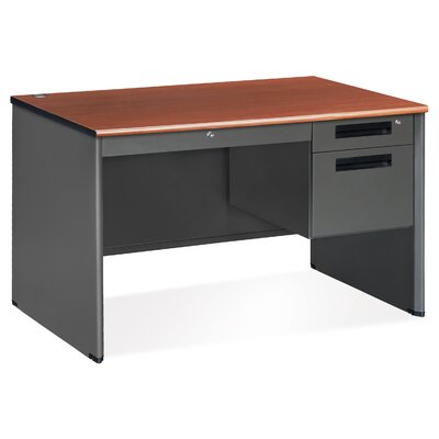 Mesa Series Single Pedestal Computer Desk Product Picture 5674