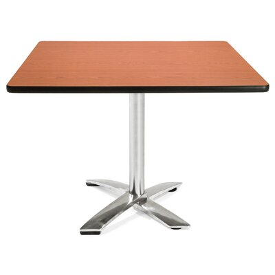 Multi-Use Square Gathering Table Color: Cherry