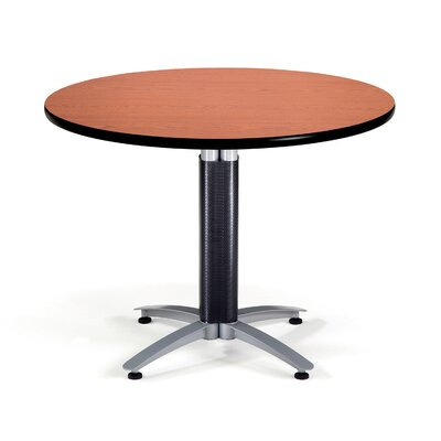 Multi-Use Round Gathering Table Size: 42 Diameter, Color: Cherry