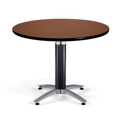 Multi-Use Round Gathering Table Size: 42 Diameter, Color: Mahogany