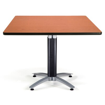 Multi-Use Square Gathering Table Size: 42 W x 42 D, Top Finish: Cherry