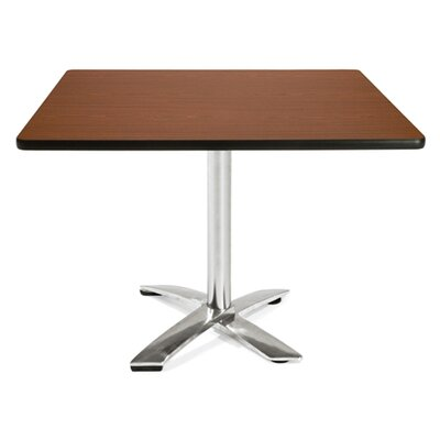 Multi-Use Square Gathering Table Color: Mahogany