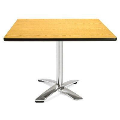 Multi-Use Square Gathering Table Color: Oak