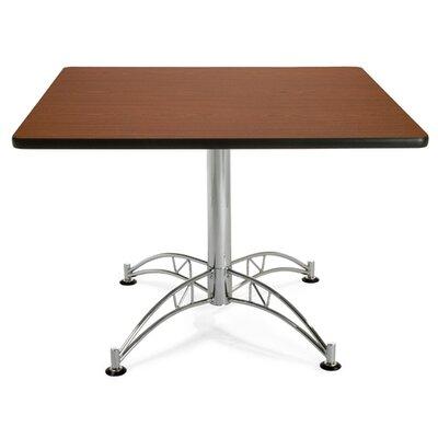 Multi-Purpose Square Gathering Table Size: 42 Diameter, Finish: Mahogany