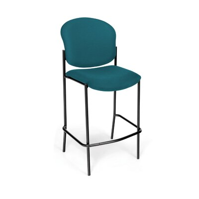 Manor Series 30.5 inch Bar Stool Upholstery: Teal