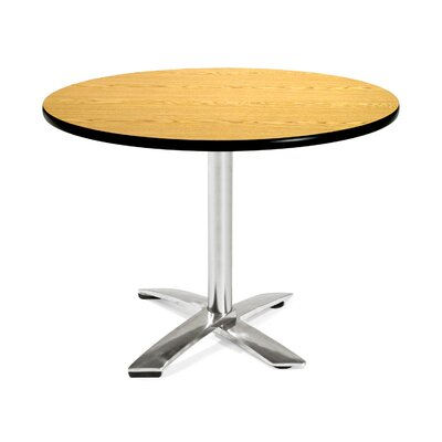 42 Round Folding Multi-Purpose Table Finish: Oak