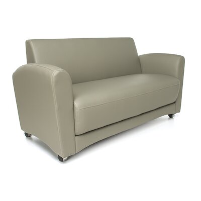 InterPlay Lounge Loveseat Color: Taupe