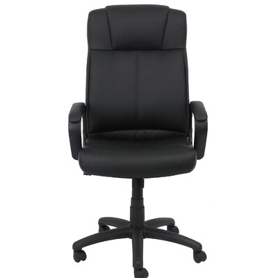 Essentials High-Back Leather Executive Chair