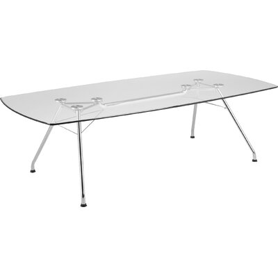 Curved end 29H x 47.25W x 94.5L Conference Table