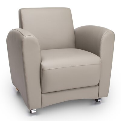 InterPlay Lounge Chair Color: Taupe