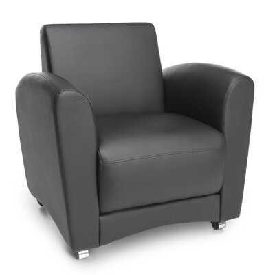 InterPlay Lounge Chair Color: Black