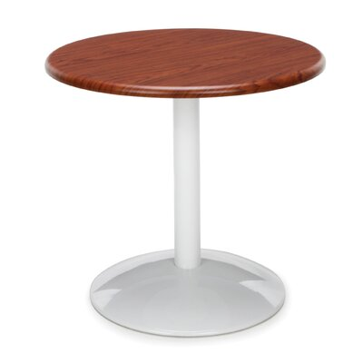 Orbit Round Table Top Finish: Cherry, Size: 23 H x 36 W x 36 D