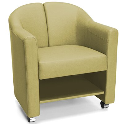 Club Guest Chair Color: Leaf Gold