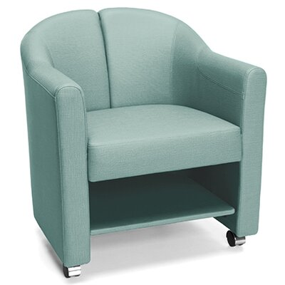 Club Guest Chair Color: Aqua