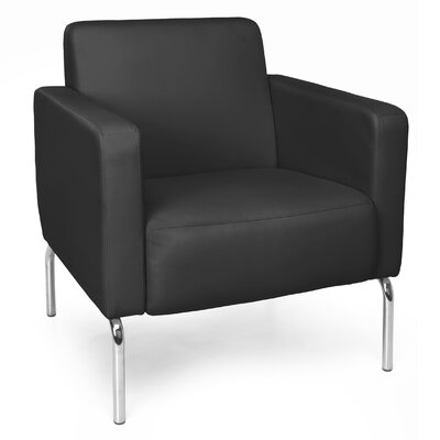 Triumph Series Lounge Chair Color: Black