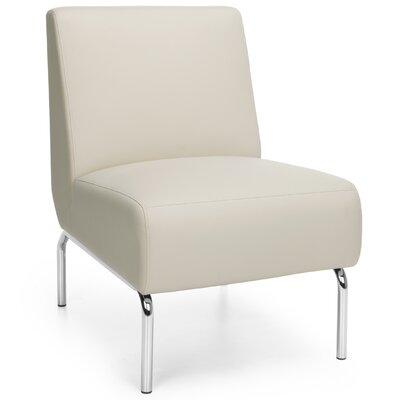 Triumph Series Armless Lounge Chair Color: Cream
