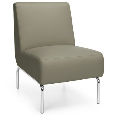 Triumph Series Armless Lounge Chair Color: Taupe