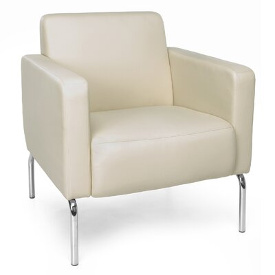 Triumph Series Lounge Chair Color: Cream
