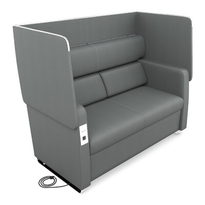 Morph Series Soft Seating Loveseat Upholstery: Slate