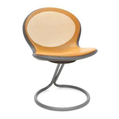 Net Round Base Chair (Set of 2) Color: Orange