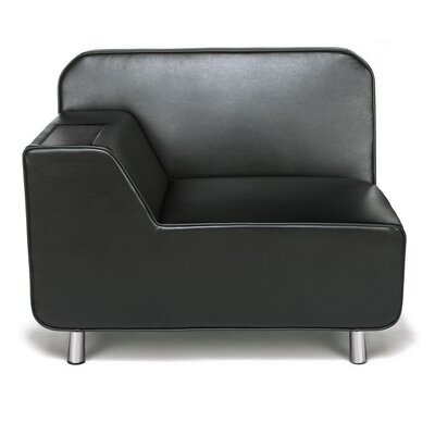 Serenity Series Lounge Chair Finish: Black