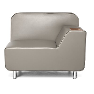 Serenity Series Lounge Chair Finish: Taupe