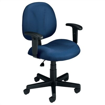OFM Superchair Mid-Back Confrence Chair with Arms (18 Pieces) - Color: Teal
