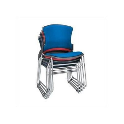 MultiUse Plastic Stack Chair (Set of 4) Color: Wine, Style: With Arms