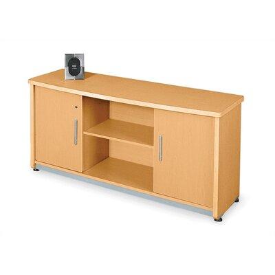 Milano Sideboard Color: Maple