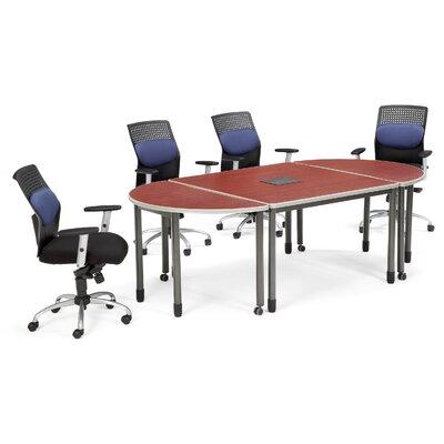 Mesa Series Rectangular 29H x 47.25W x 47.25L Conference Table Set