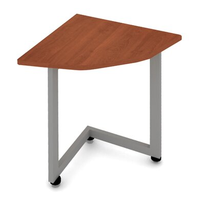 Corner Reception Table Finish: Cherry