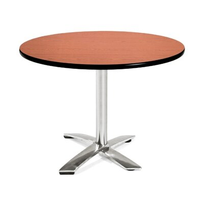 42 Round Folding Multi-Purpose Table Finish: Cherry