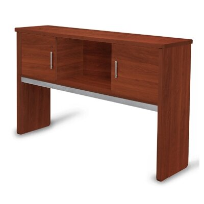 Milano 39.5 H x 63.75 W Desk Hutch Finish: Cherry