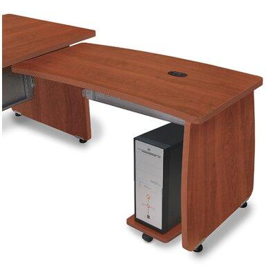 Milano 27.6 H x 47.2 W Right Desk Return Finish: Cherry