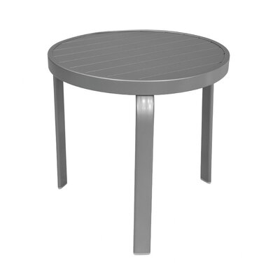Atlantic Side Table Finish: Anodized Silver