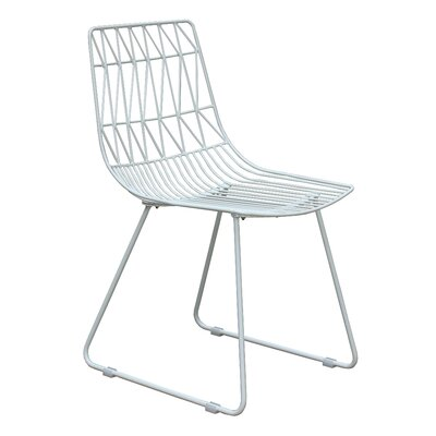 Alexus Silver Dining Side Chair