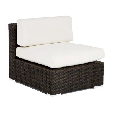 Source Outdoor Manhattan Armless Deep Seating Chair - Fabric: Sunbrella Bay Brown