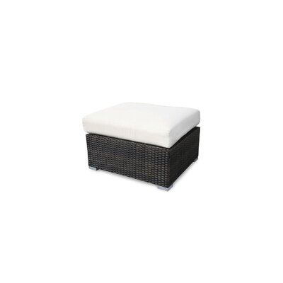 Source Outdoor Lucaya Ottoman with Cushion - Fabric: Off-White at Sears.com