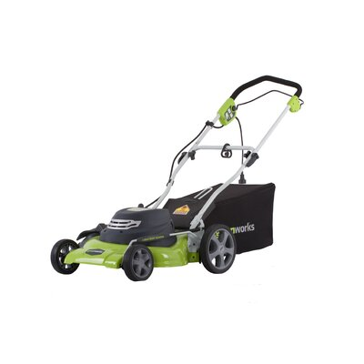 Cheap Greenworks 25092 18 In Cordless Electric Bagmulch