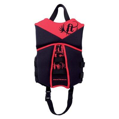Image of Full Throttle Child Neoprene Flex-Back Life Life Vest Size: Child, Color: Red/Black (1461RED99)