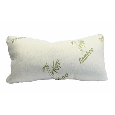 Rayon from Bamboo Magic Memory Foam Pillow Size: King