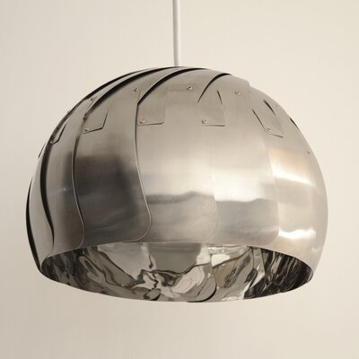 Iris 1-Light Pendant Finish: Stainless Steel