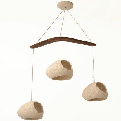 Claylight 3-Light Pendant