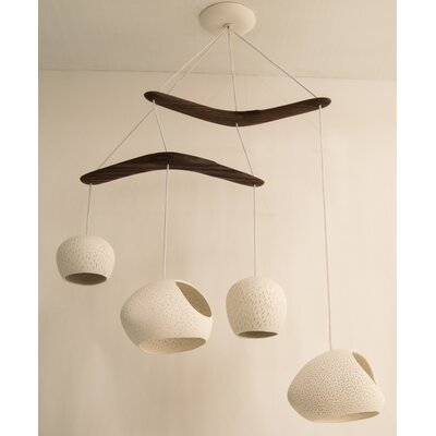 ClayLight 4-Light Bowl Pendant