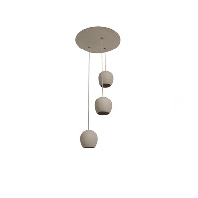 Newmanstown 3-Light LED Cluster Pendant