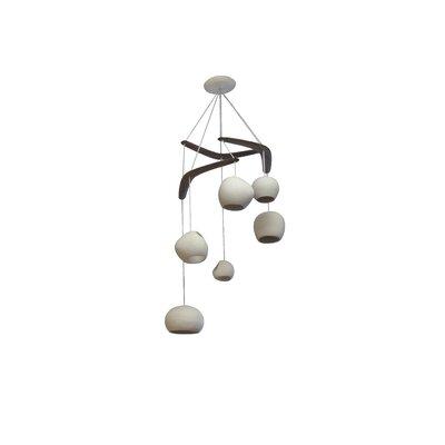 Newmanstown Boomerang 6-Light Cluster Pendant